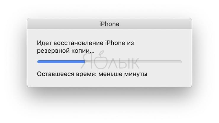 Как восстановить резервную копию iPhone или iPad из iTunes на компьютере