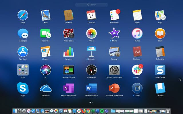 Launchpad-and-Dock-on-Mac