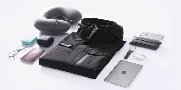 Куртка-рюкзак от Uleemark от Xiaomi (3 фото)