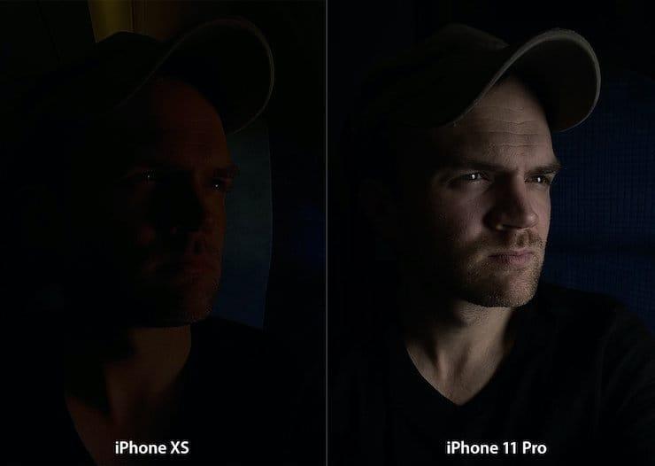 Ночной режим съемки в iPhone 11 и 11 Pro