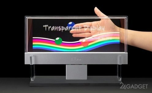 Прозрачные дисплеи от Japan Display (3 фото)