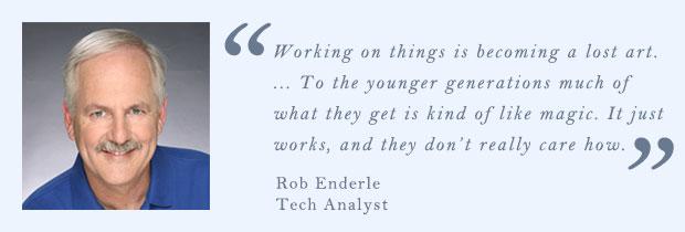 Роб Эндерл, технический аналитик