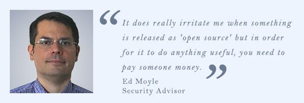 Эд Мойл, советник по безопасности