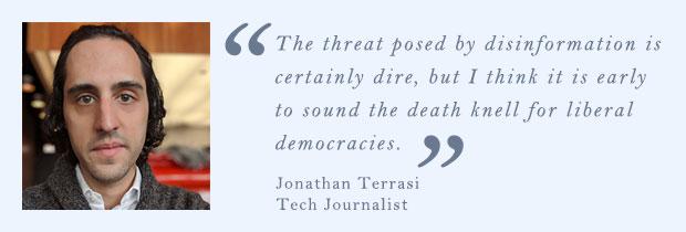 Джонатан Терраси, технический журналист