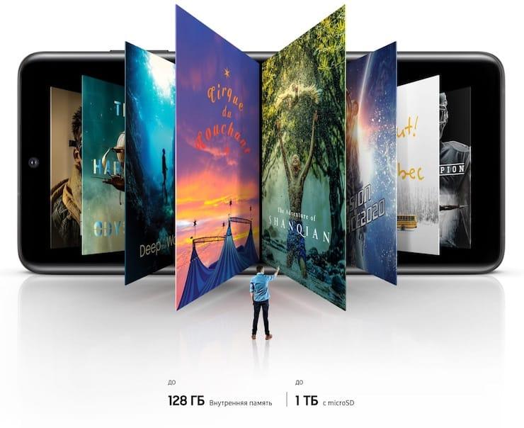 Производительность и память Samsung Galaxy S20 и S20+