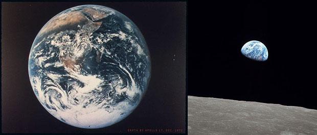 Две самые известные картины Земли