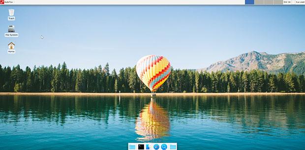 Рабочий стол AutoTux Xfce