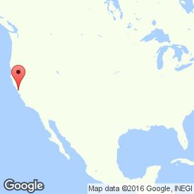 Карта Сан-Франциско, Калифорния