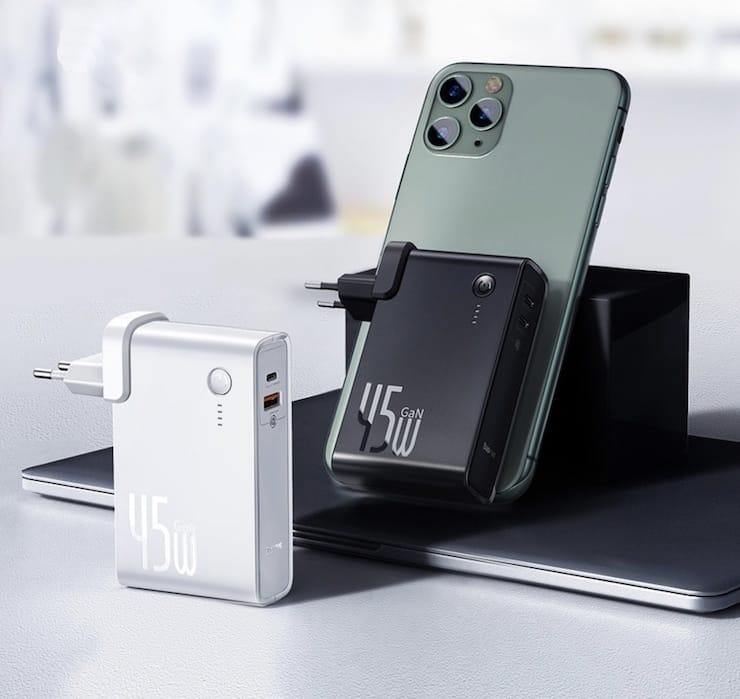 Зарядное устройство со встроенным аккумулятором Baseus