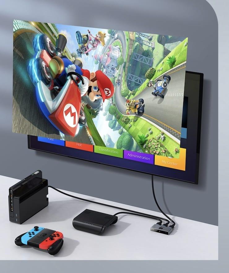HDMI-хаб Baseus