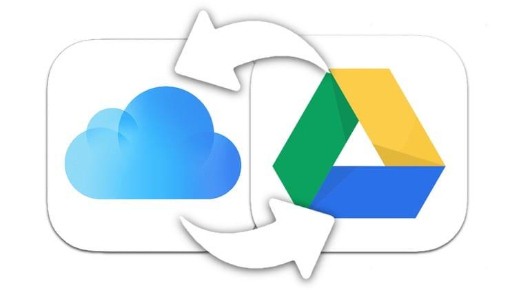 Как на iPhone или iPad копировать файлы из iCloud Drive на Google Диск и обратно