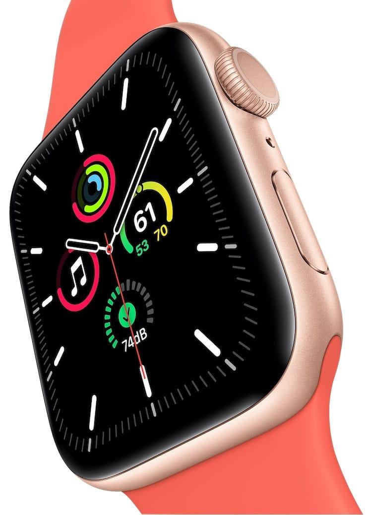 Дисплей Apple Watch SE