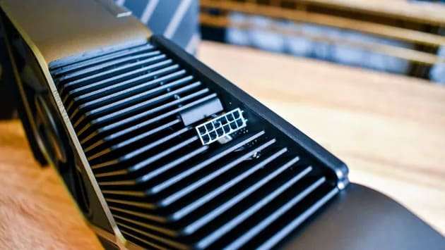 12-контактный разъем Nvidia GeForce RTX 3090