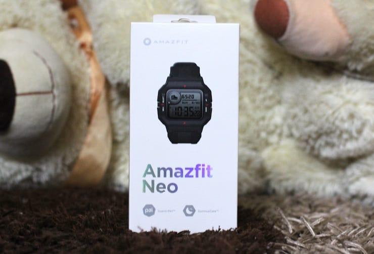 Умные водонепроницаемые часы Amazfit Neo