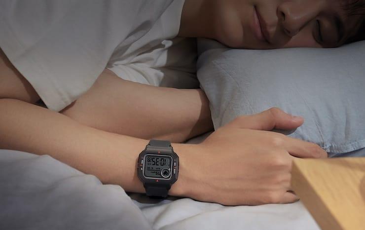 Мониторинг сна с Amazfit Neo