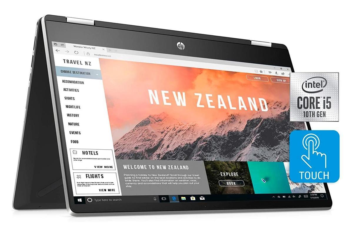"""11.jpg """"height ="""" auto """"width ="""" 1200 """"/> </span></p> <p>                </a></p> <p> Ноутбук HP Pavilion x360 2-in-1 — это трансформируемое устройство, работающее под управлением Windows 10 Home. Этот гибридный ноутбук, подходящий для работы и учебы, оснащен 14-дюймовым сенсорным дисплеем Full HD, процессором Intel Core i5, 8 ГБ оперативной памяти и 512 ГБ SSD. </p><div class='code-block code-block-4' style='margin: 8px auto; text-align: center; display: block; clear: both;'> <!-- admitad.banner: asnv99jjw31d895cf0573a3184f61a М.Видео --> <a target="""