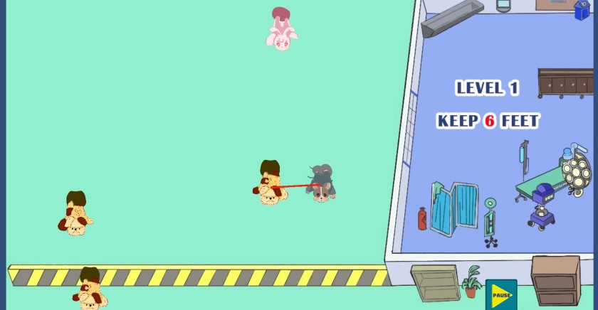 """В «Everyday Hero» фигуры спускаются по экрану и должны находиться на некотором расстоянии. """"Width ="""" 840 """"height ="""" 436 """"/>   <div class="""