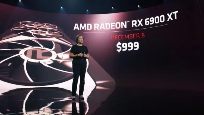 Презентация AMD Radeon RX 6900 XT