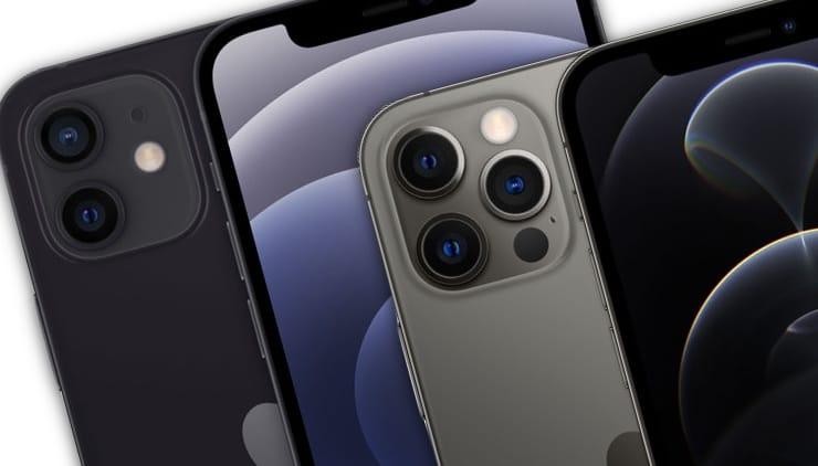 Сравнение iPhone 12 и iPhone 12 Pro