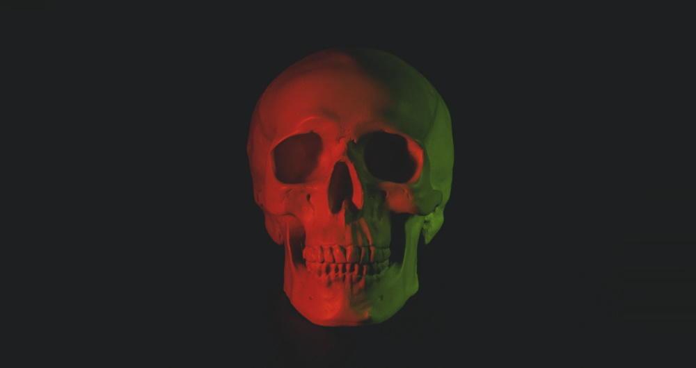 череп вредоносного ПО