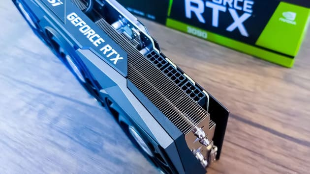 Видеокарта MSI GeForce RTX 3090 Gaming X