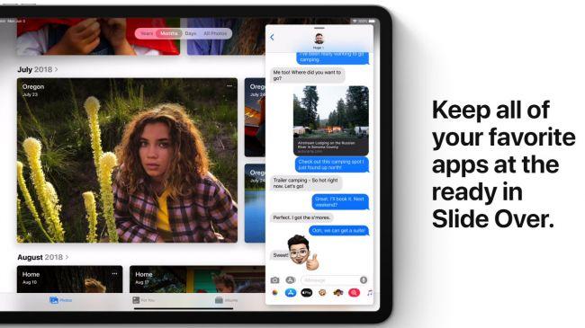 Многозадачность в iPadOS
