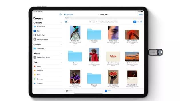 iPadOS и поддержка USB-накопителей