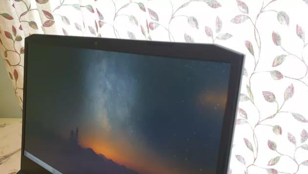 Экран Acer Nitro 5 (2021)