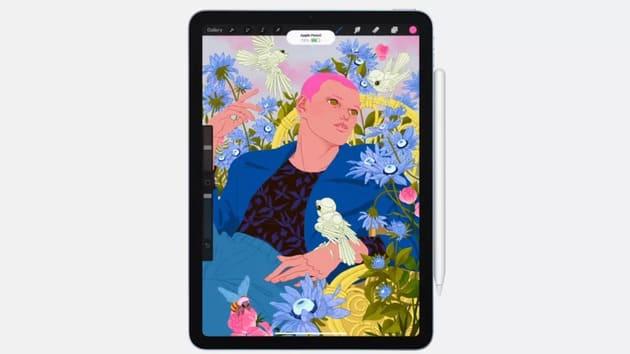 Рисовать на iPad Air 4