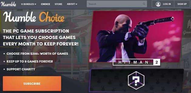 Игровой сервис Humble Choice
