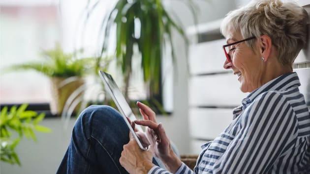 Планшеты для пожилых людей