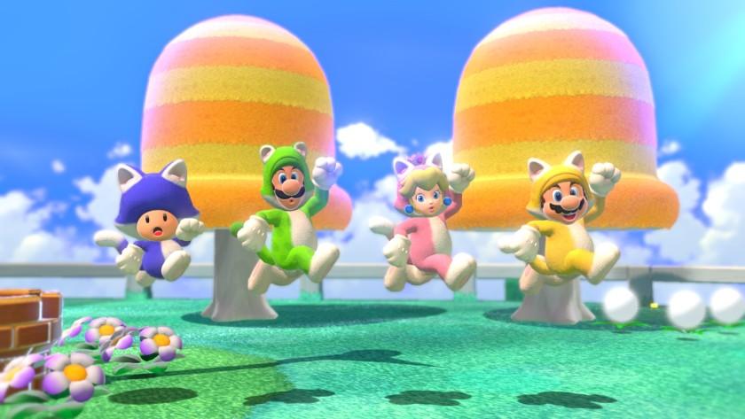 """Super Mario 3D World изобилует миловидностью"". """" width = ""840"" height = ""473"" />   <div class="