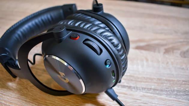 Наушники с микрофоном Logitech Pro X Wireless