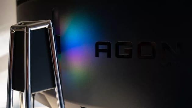Подсветка Porsche Design AOC Agon PD27