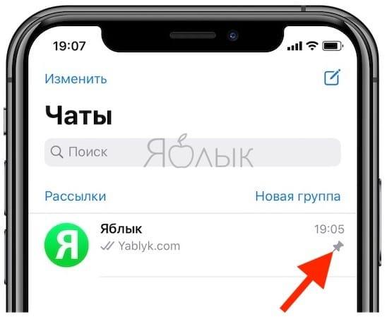 Как закрепить и открепить чат в WhatsApp