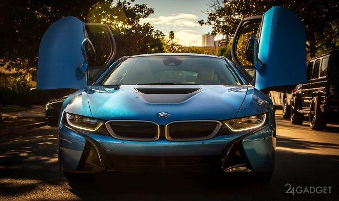 BMW i8 превратили в передвижную майнинговую ферму