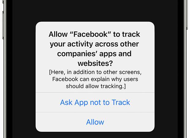 Функция прозрачности отслеживания приложений Apple
