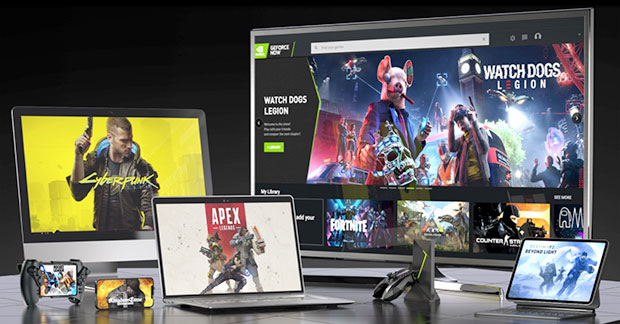 Nvidia GeForce Now Cloud Gaming