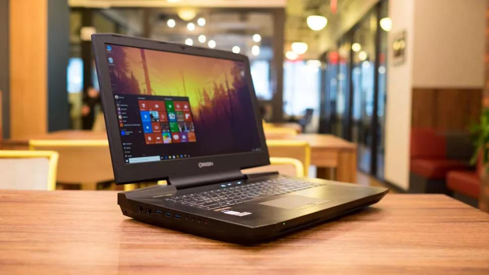 Лучший ноутбук для VR - Origin EON17-SLX