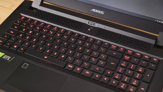 Клавиатура Gigabyte Aorus 17G (2021)