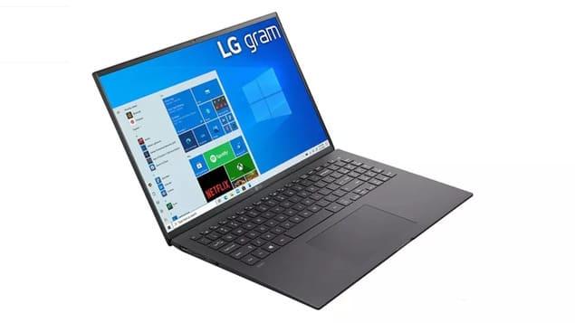 Ноутбук на Windows - LG Gram 16 (2021)