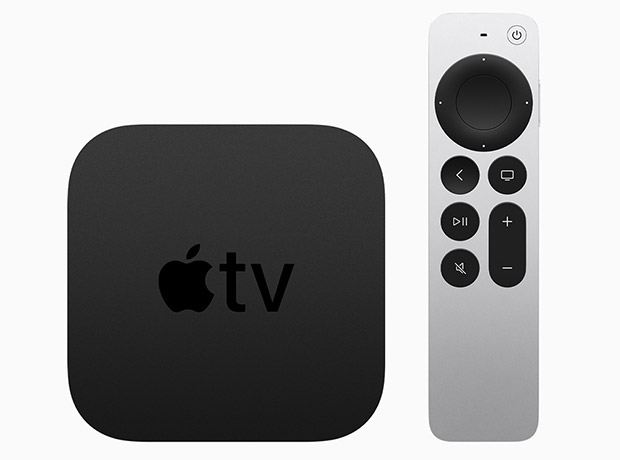 Apple TV 4K с пультом Siri Remote