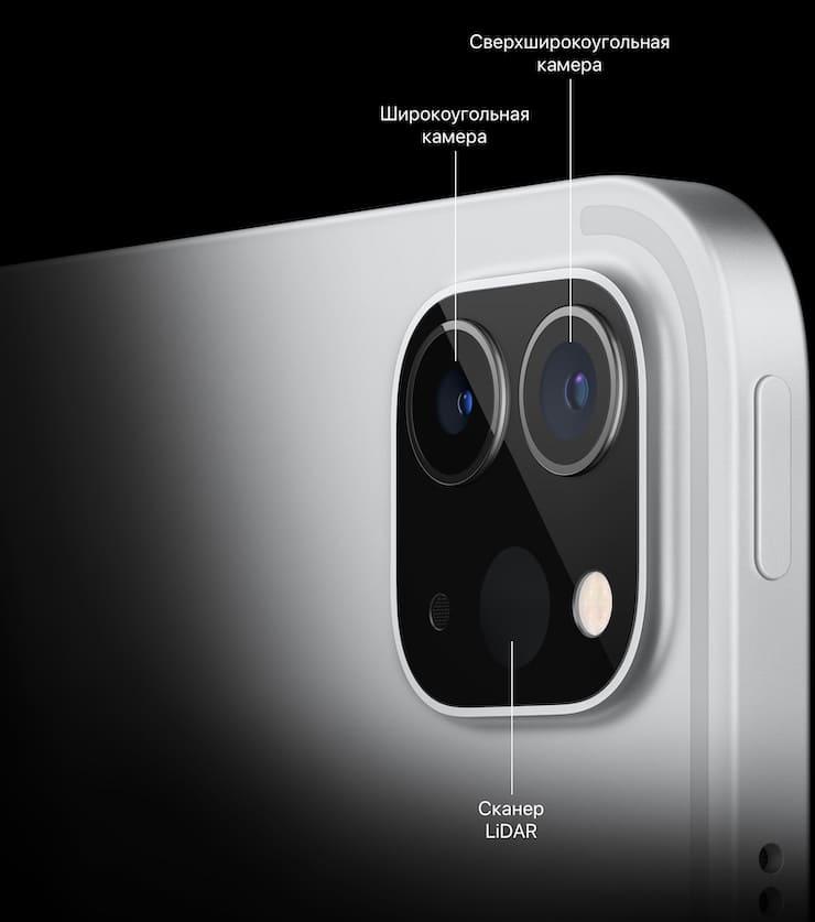 Камеры iPad Pro 2021 года