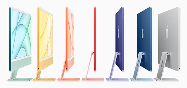 Весна 2021 года Тонкий профиль iMac
