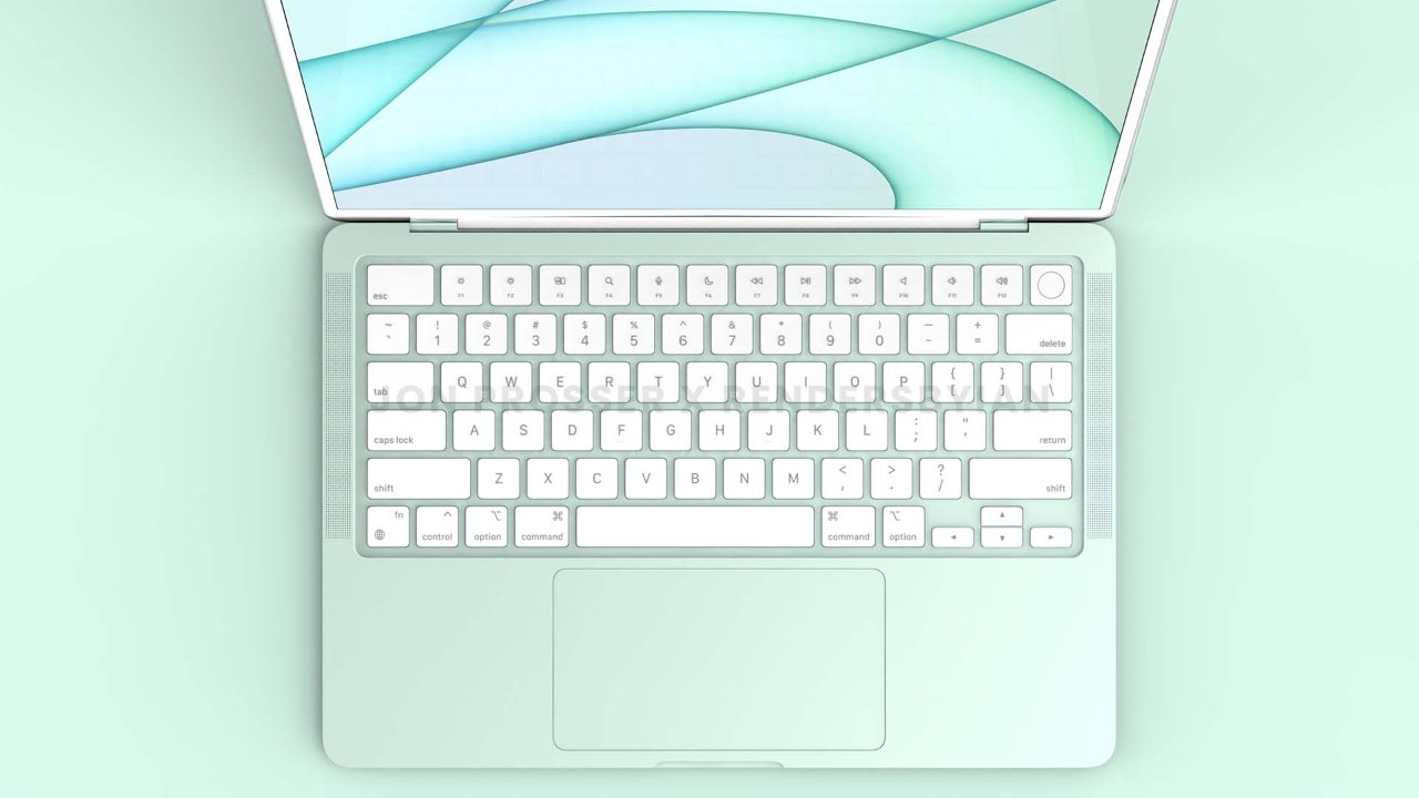 """Дизайн белой лицевой панели и клавиатуры имитирует те, что были на 24-дюймовом iMac. Источник изображения: Front Page Tech """"loading ="""" lazy """"class ="""" img-responsive article-image """"/> </div> <p> <span class="""