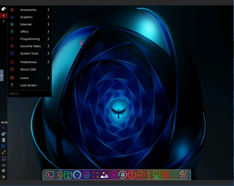 "Garuda Linux LXQT-Kwin edition Mac-подобный внешний вид ""width ="" 990 ""height ="" 789 ""/> </p> <p> <span style="
