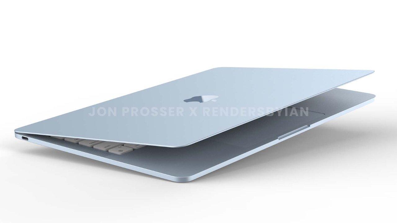 """Синий MacBook Air - единственный Mac Prosser, который действительно видел на фотографиях """"loading ="""" lazy """"class ="""" img-responsive article-image """"/> </div> <p> <span class="""
