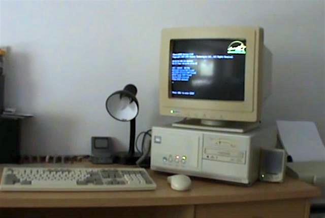 Звуки при включении компьютера и принтера 20 лет назад