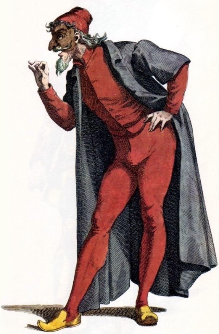 торговец Панталоне