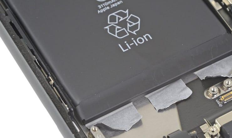 Батареи какого типа установлены в iPhone?